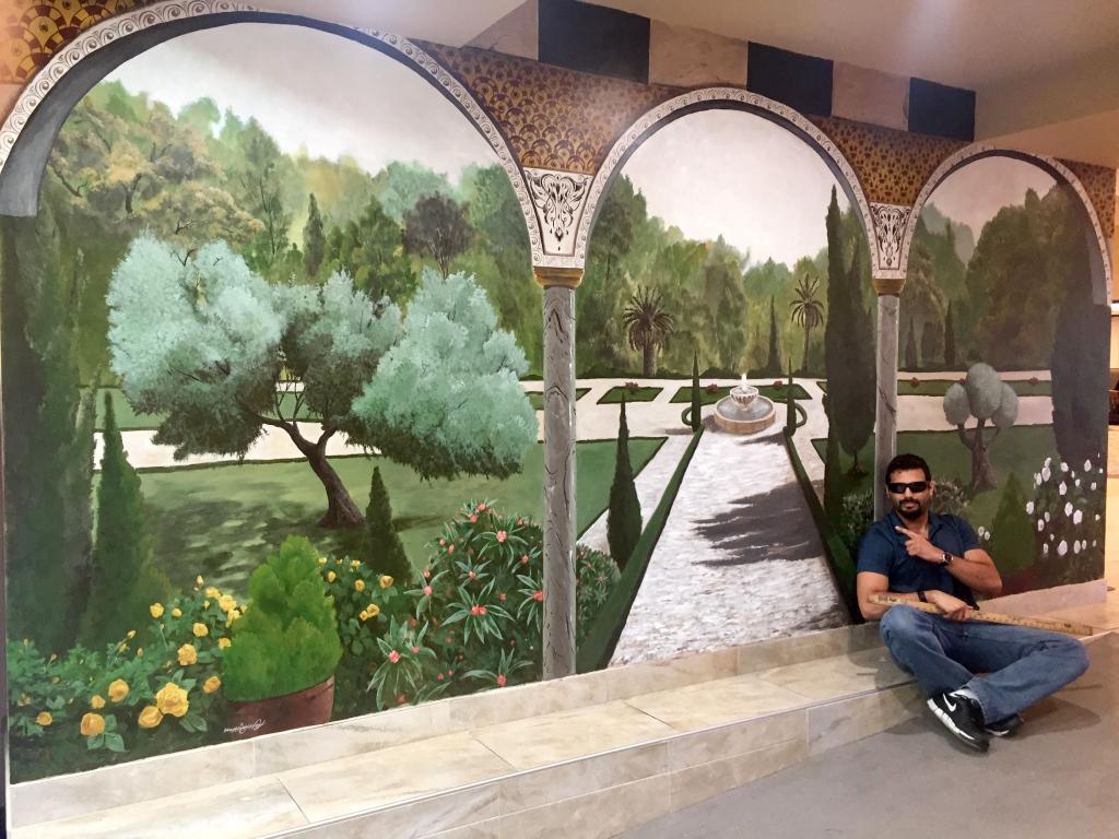 Garden Mural | Acrylic