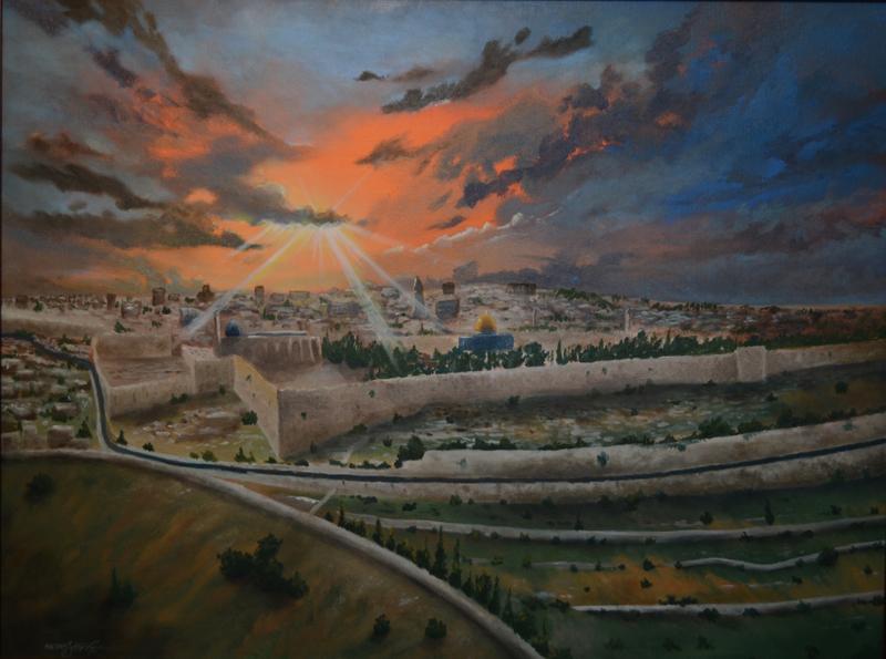 Jerusalem | Oil on Canvas