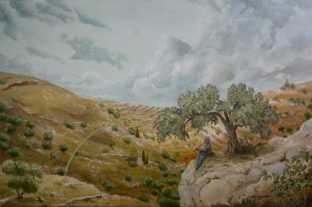 Olive Hills | Oil on Canvas