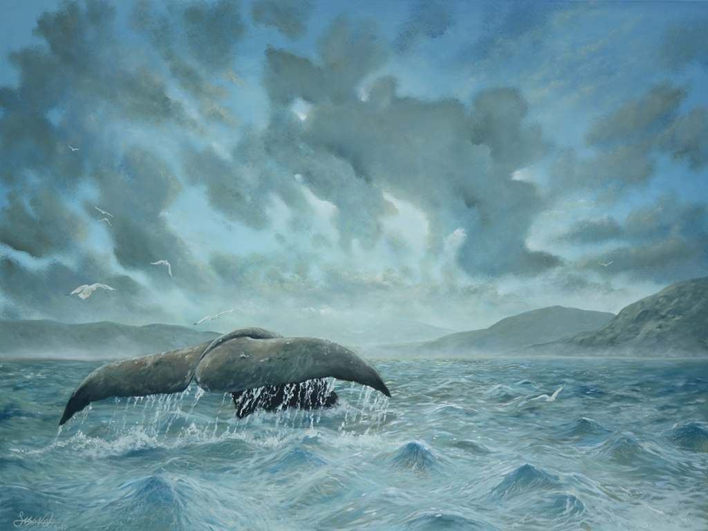 Whale Tail | Oil on Canvas