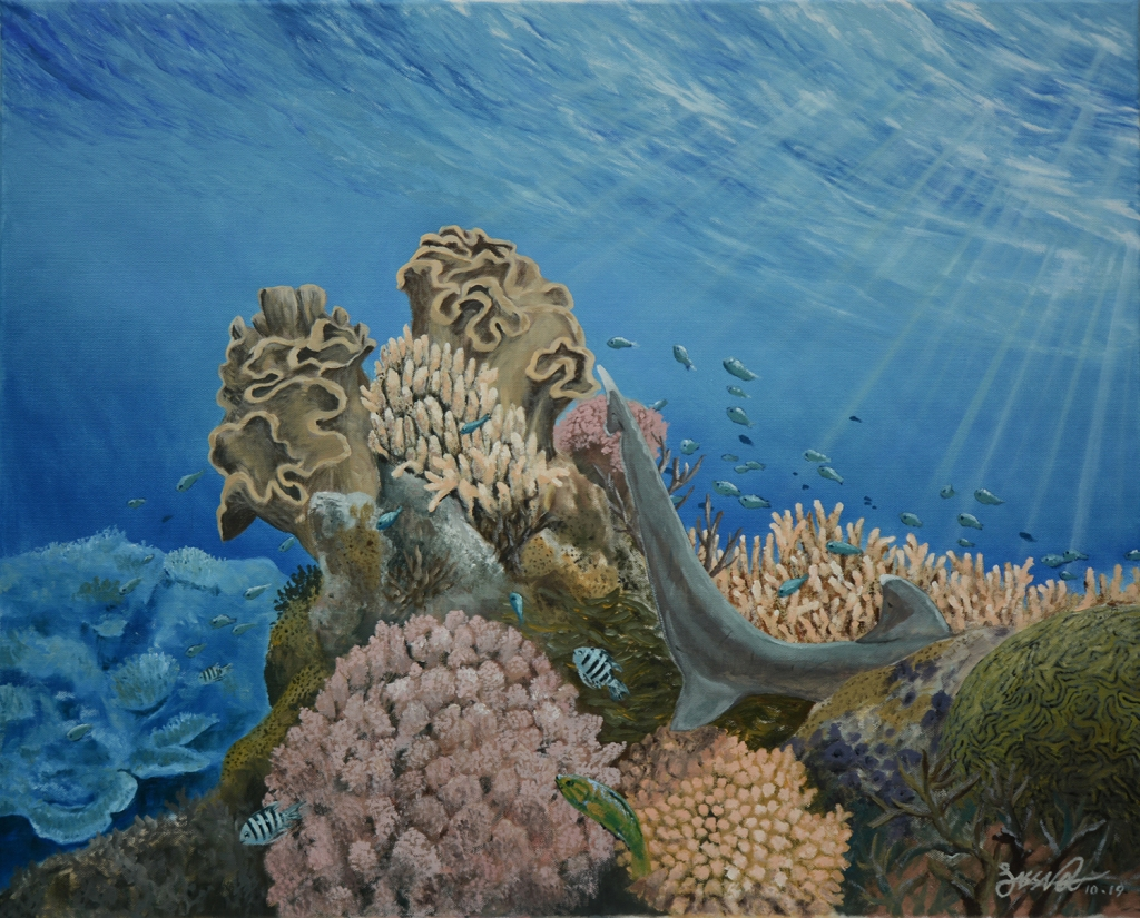 Living Reef | Oil on Canvas