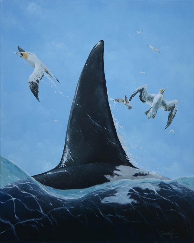 Orca! | Oil on Canvas